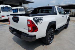 NEW REVO ROCCO SMART CAB 2.8 HIGH 4x4 AUTO - WHITE PEARL